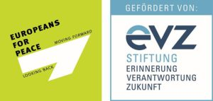 Logo of the Foundation EVZ and Europeans for Peace
