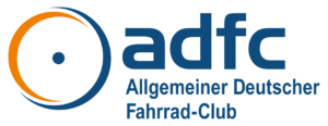 Logo adfc: Allgemeiner Deutshcer Fahrrad-Club